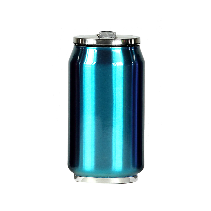 mug canette isotherme inox 280 ml bleu maison fut e. Black Bedroom Furniture Sets. Home Design Ideas