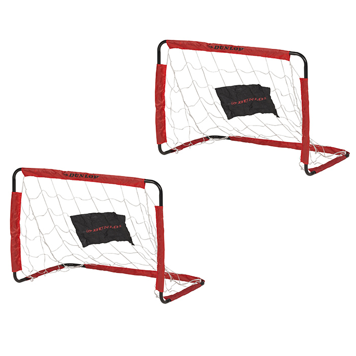 cages de foot 78 cm dunlop par 2 maison fut e. Black Bedroom Furniture Sets. Home Design Ideas