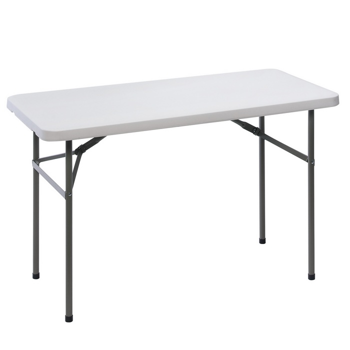 Table d 39 appoint pliante en r sine renforc 122x61x74 cm - Table d appoint pliante ikea ...