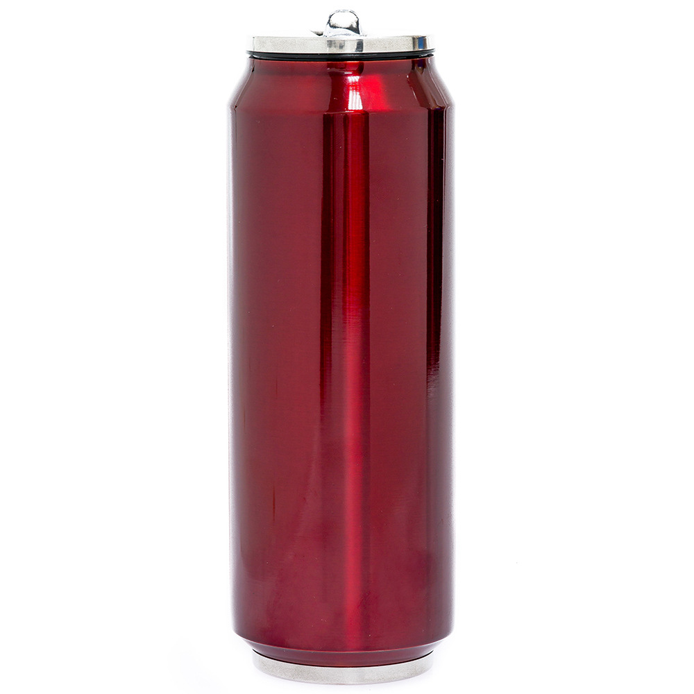 canette isotherme xl 700 ml rouge