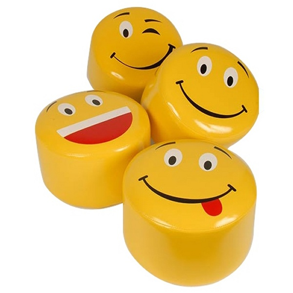 pouf smiley pour enfants. Black Bedroom Furniture Sets. Home Design Ideas