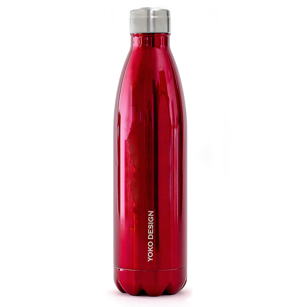 bouteille isotherme xl 750 ml rouge