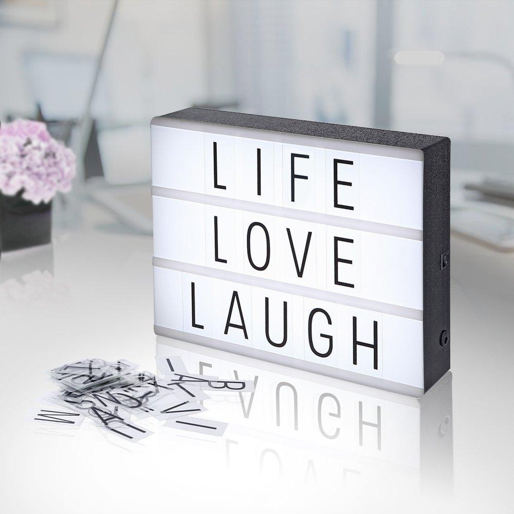 Boite Lumineuse Idee Message boîte lumineuse à messages - format a4 - maison futée