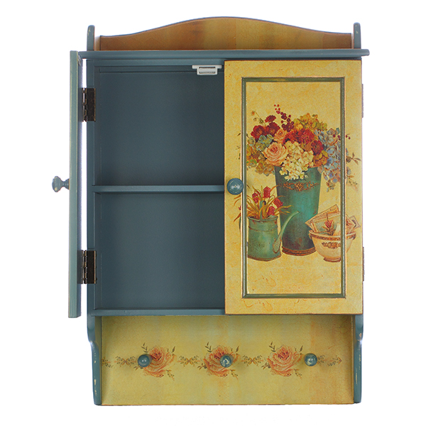 petite armoire murale style vintage maison fut e. Black Bedroom Furniture Sets. Home Design Ideas