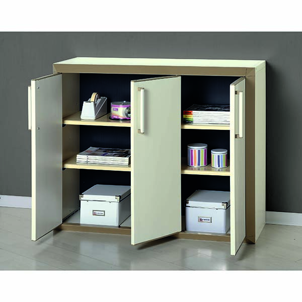 armoire basse modulable en r sine 3 portes prestige. Black Bedroom Furniture Sets. Home Design Ideas