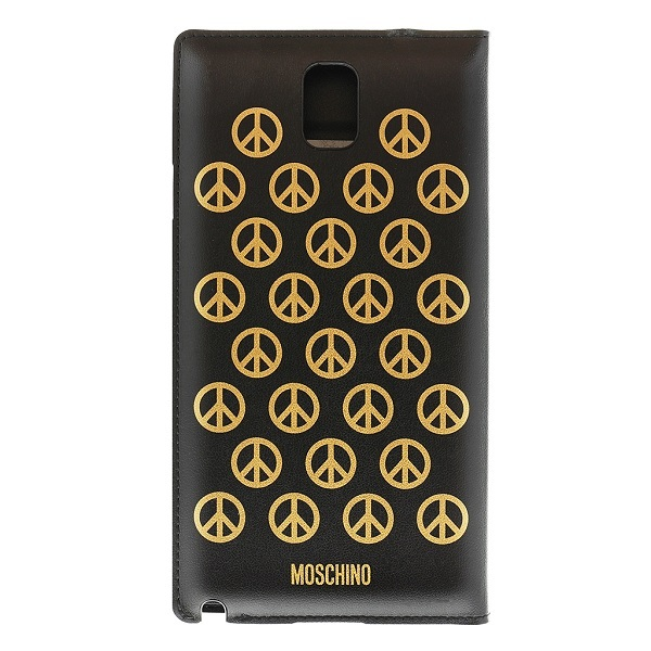 Étui folio Moschino pour Samsung Galaxy Note 3 PEACE