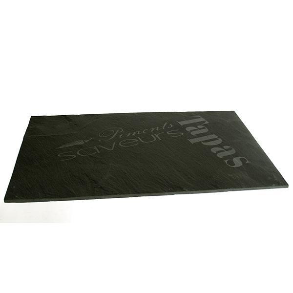 assiette ardoise 20x30 cm pour tapas et mises en bouche maison fut e. Black Bedroom Furniture Sets. Home Design Ideas