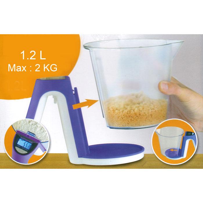 Balance lectronique de cuisine avec son bol doseur - Balance electronique de cuisine ...