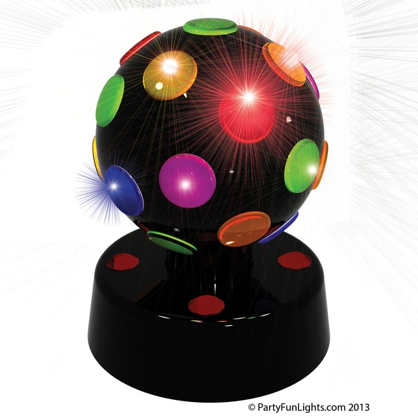 Lampe disco light 5 led lampe de boum boule disco