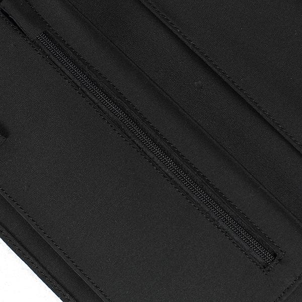 Portefeuille porte ch quier long microfibre noir - Porte chequier long ...