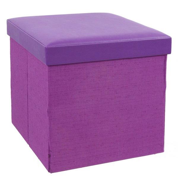 pouf de rangement. Black Bedroom Furniture Sets. Home Design Ideas