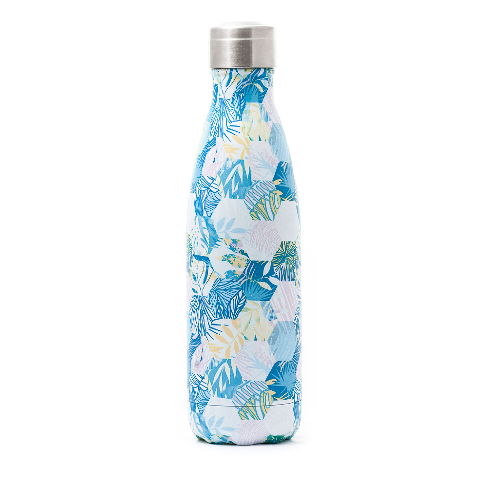 bouteille isotherme design jungle 500ml yoko