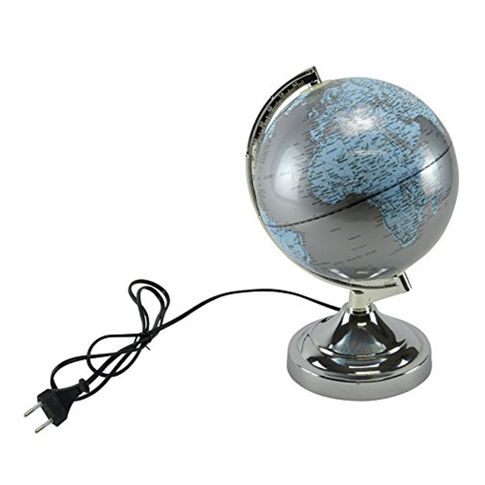 lampe touch globe terrestre maison fut e. Black Bedroom Furniture Sets. Home Design Ideas