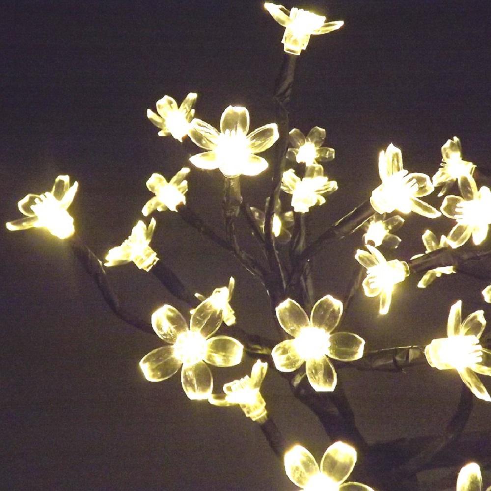 clairage de noel arbre lampe cerisier 48 led maison fut e. Black Bedroom Furniture Sets. Home Design Ideas