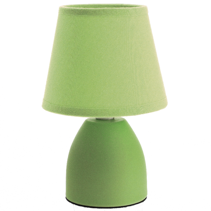 Lampe de bureau vert anis d coration de maison contemporaine for Decoration maison vert anis