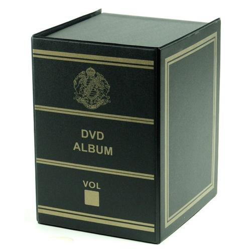bo te de rangement pour dvd noir maison fut e. Black Bedroom Furniture Sets. Home Design Ideas