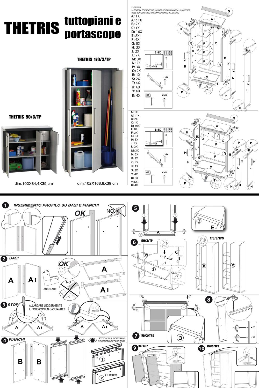 armoire haute modulable en r sine 2 portes prestige maison fut e. Black Bedroom Furniture Sets. Home Design Ideas