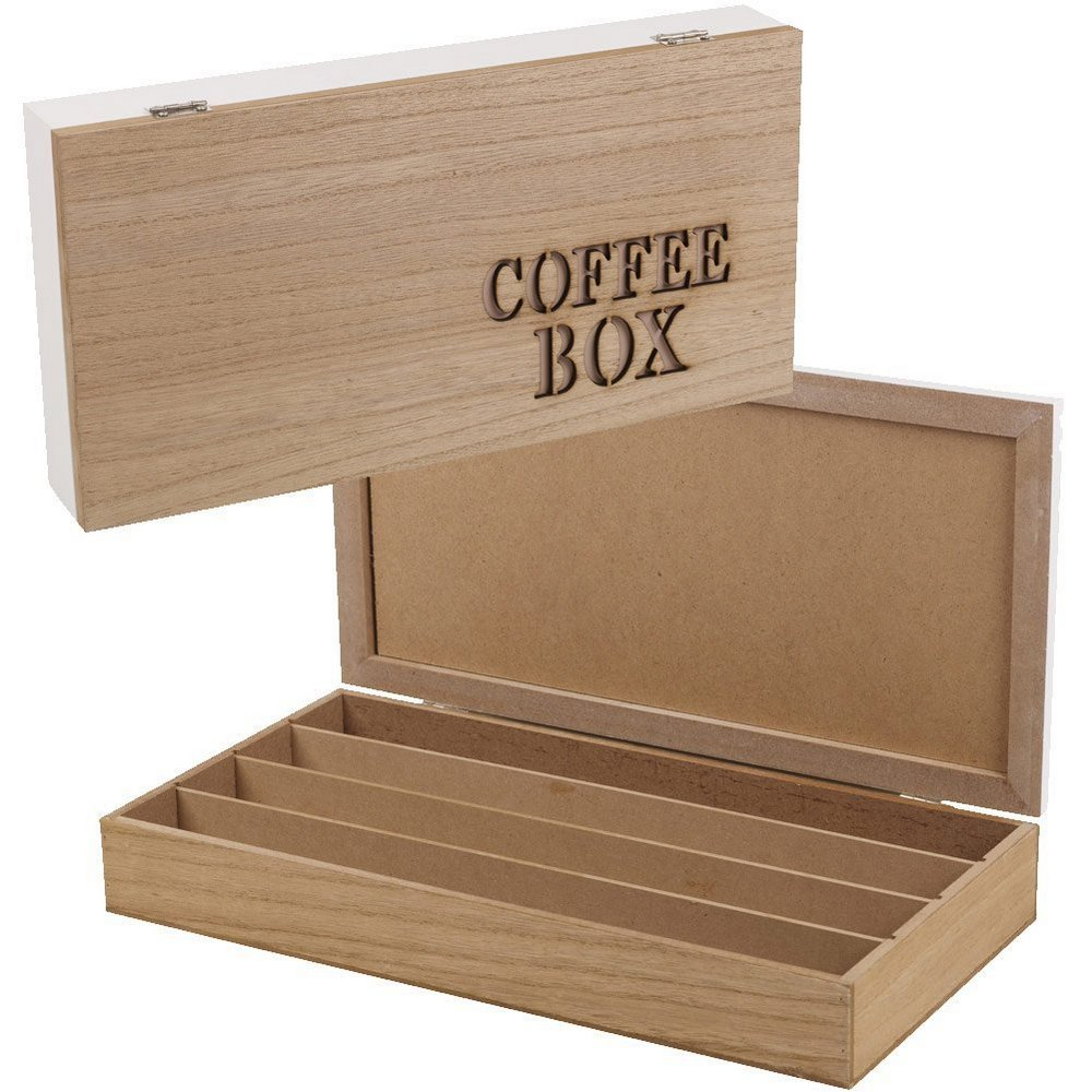 COFFEE BOX CAPSULES NESPRESSO