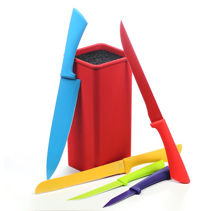 Bloc range couteaux et ses 5 couteaux de cuisine maison for Range couteau cuisine