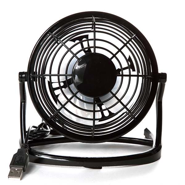 mini ventilateur pivotant usb 13 cm maison fut e. Black Bedroom Furniture Sets. Home Design Ideas