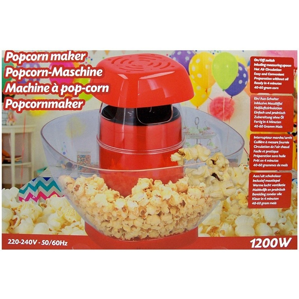 Machine à Pop-Corn sans huile 1200W