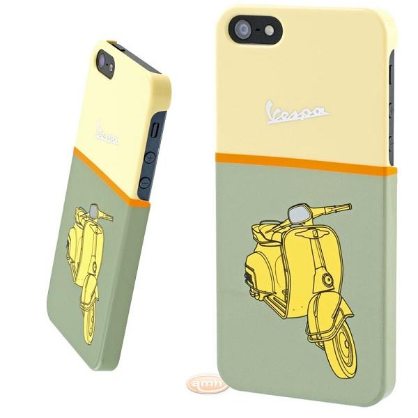 Coque Vespa Vert/Jaune pour Apple iPhone 5 - Maison Futée