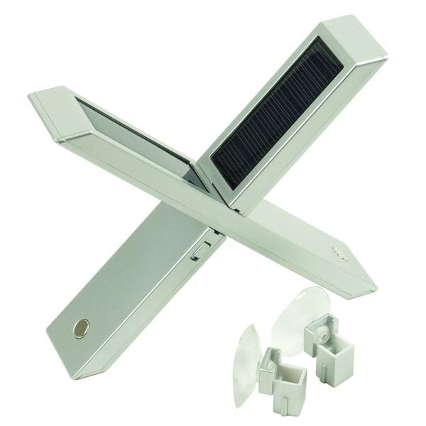lampe solaire silver led 2 en 1 maison fut e. Black Bedroom Furniture Sets. Home Design Ideas