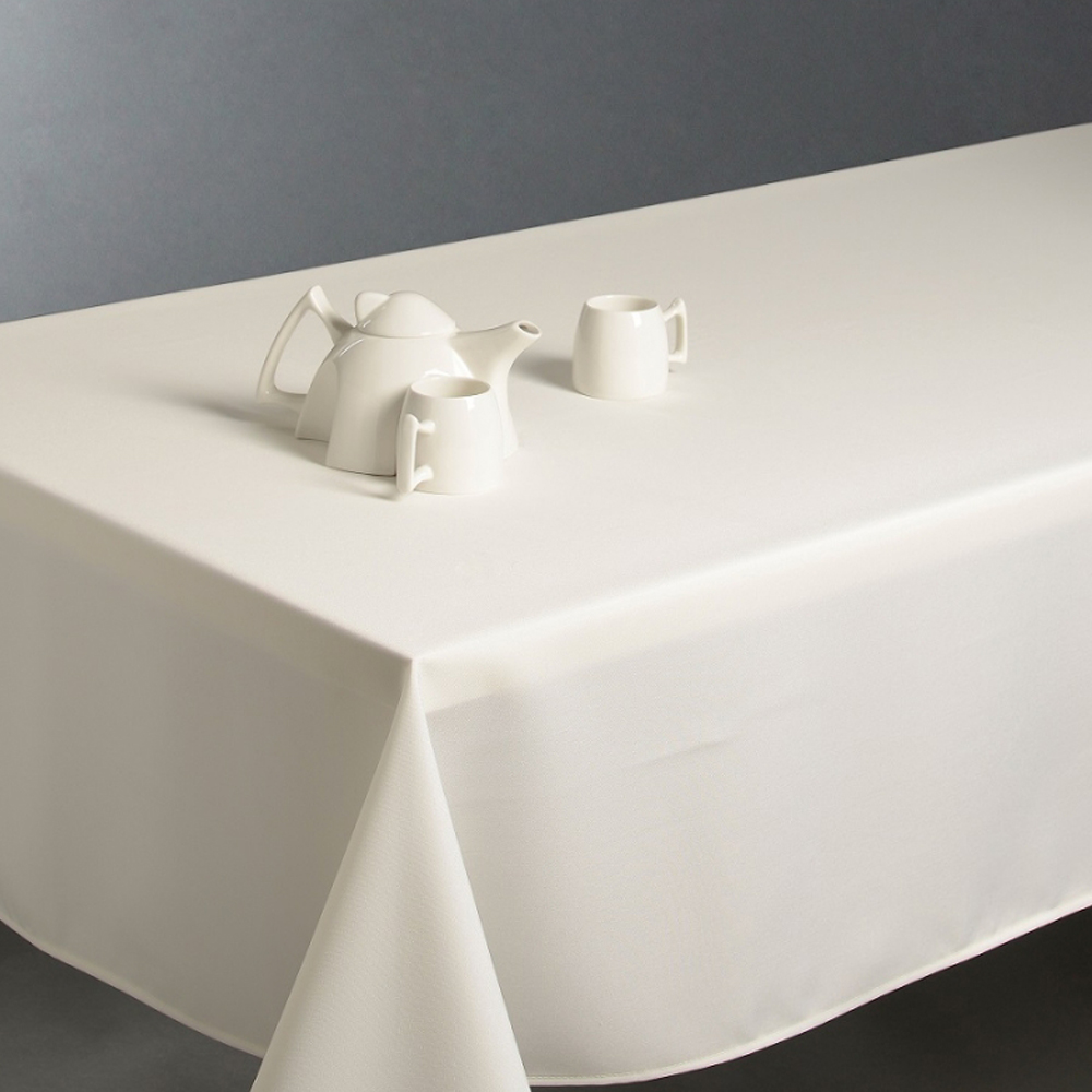 Nappe anti taches ivoire 150 x 300 cm maison fut e - Nappe anti tache rectangulaire 300 ...