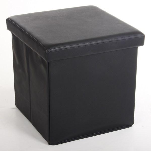 Poufs d co maison fut e - Coffre pouf de rangement ...