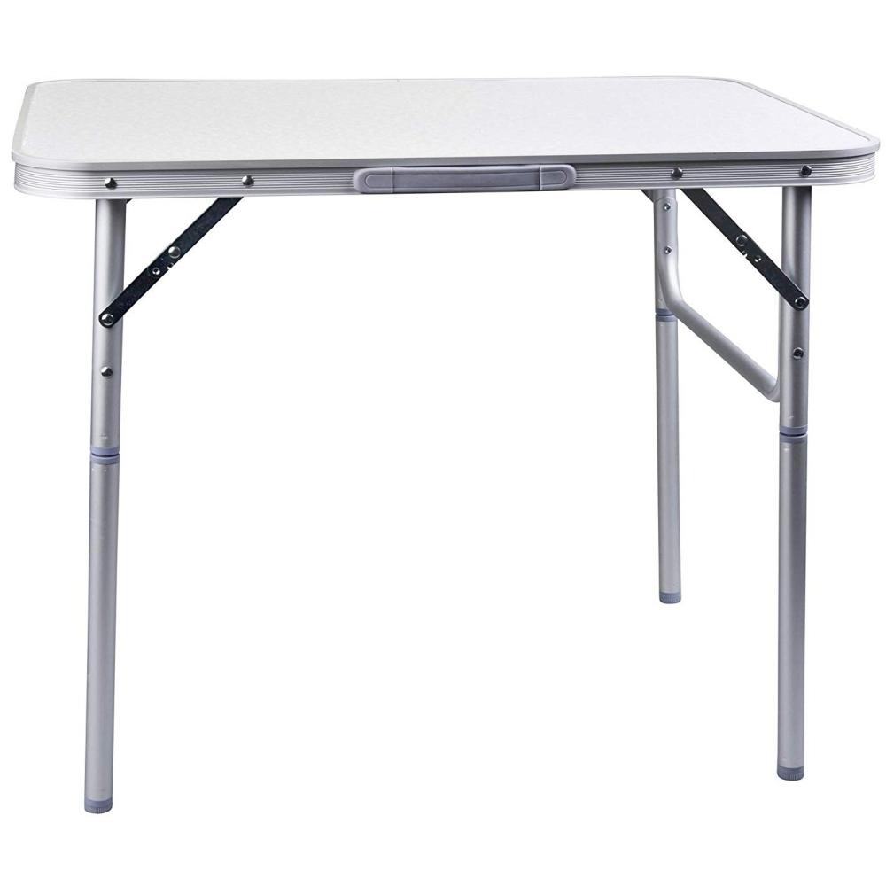 table d 39 appoint pliante alu maison fut e. Black Bedroom Furniture Sets. Home Design Ideas