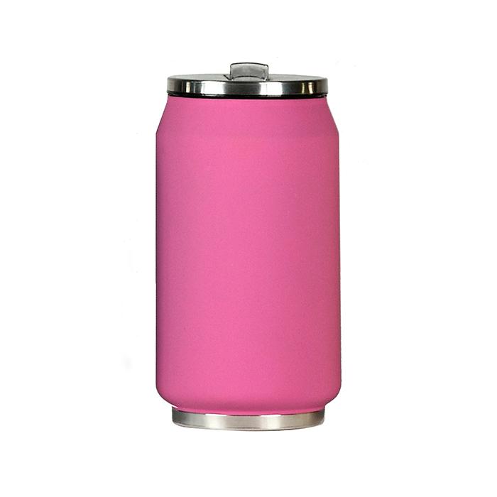 mug canette isotherme rubber 280 ml rose maison fut e. Black Bedroom Furniture Sets. Home Design Ideas
