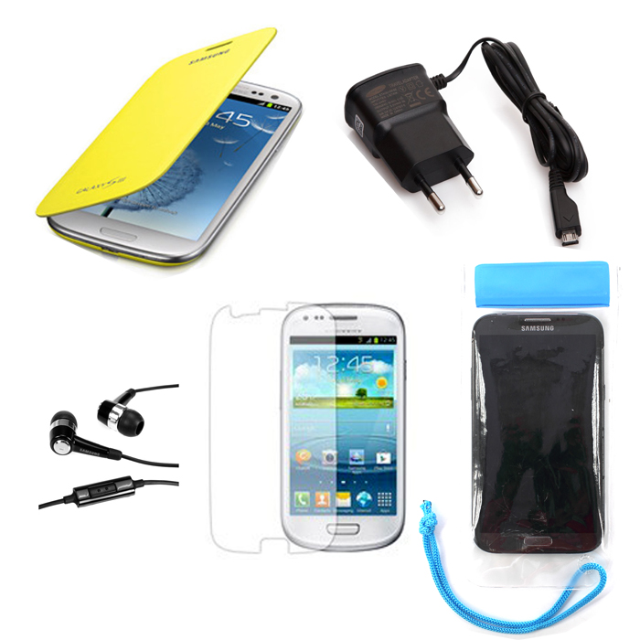 Kit accessoires samsung galaxy s3