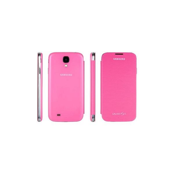 Etui-folio-original-pour-Samsung-Galaxy-S4-Orange