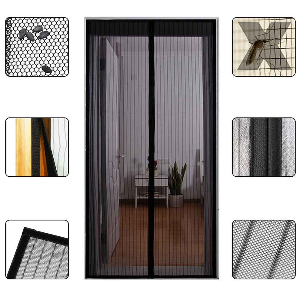 rideaux de porte anti moustiques maison fut e. Black Bedroom Furniture Sets. Home Design Ideas
