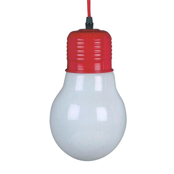 lampe ampoule suspendre rouge maison fut e. Black Bedroom Furniture Sets. Home Design Ideas