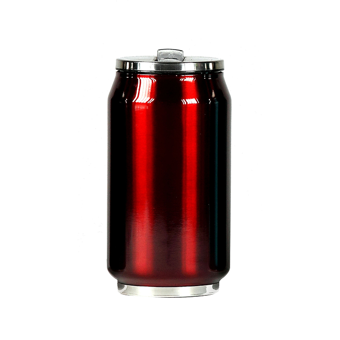 mug canette isotherme inox 280 ml rouge maison fut e. Black Bedroom Furniture Sets. Home Design Ideas
