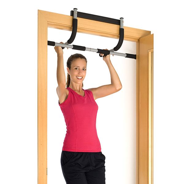 barre fitness pour gymnastique et musculation 4 en 1. Black Bedroom Furniture Sets. Home Design Ideas
