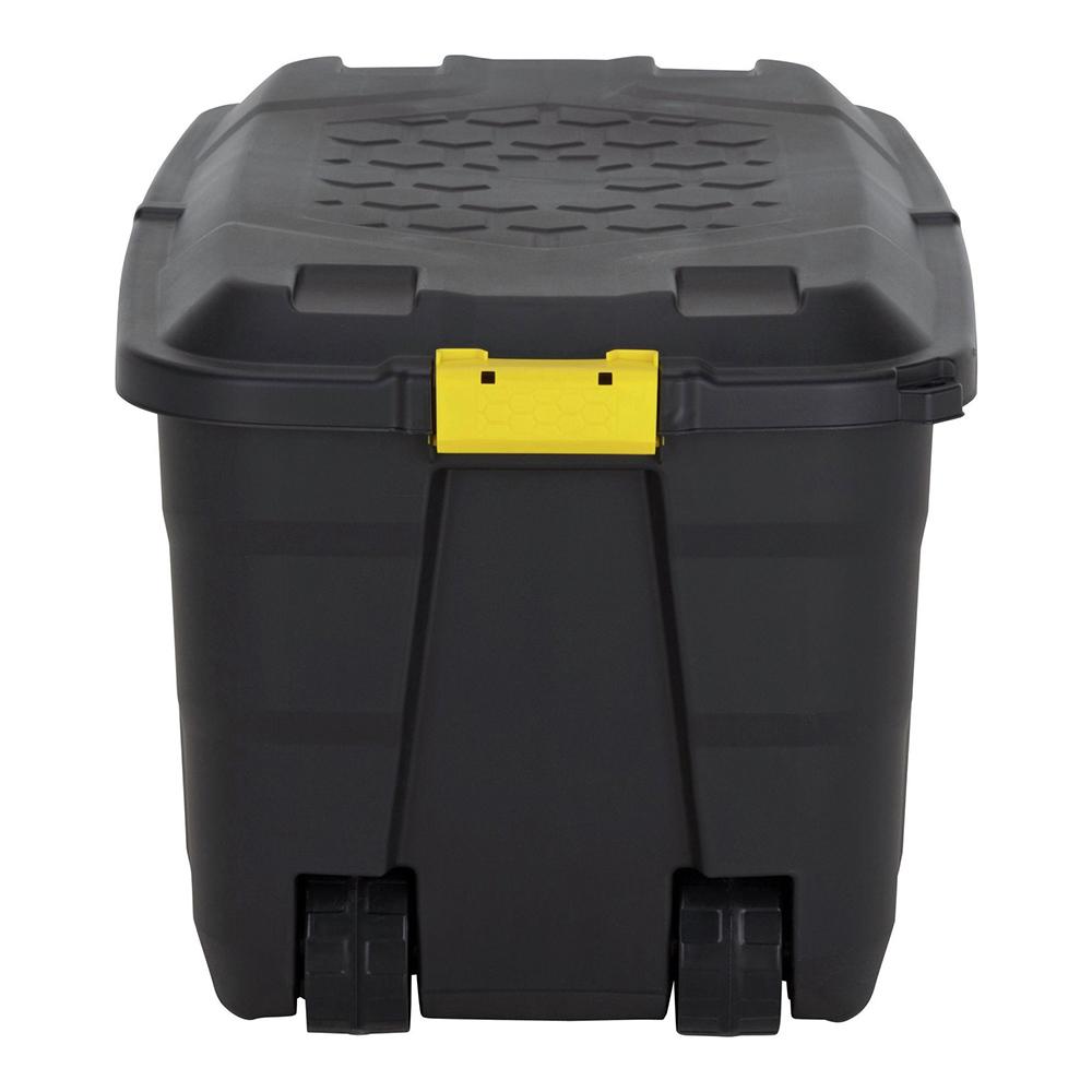 cantine coffre de rangement empilable roulettes 75 litres maison fut e. Black Bedroom Furniture Sets. Home Design Ideas