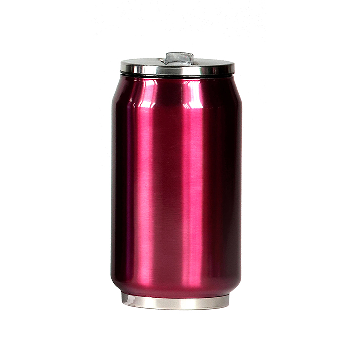 mug canette isotherme inox 280 ml rose maison fut e. Black Bedroom Furniture Sets. Home Design Ideas