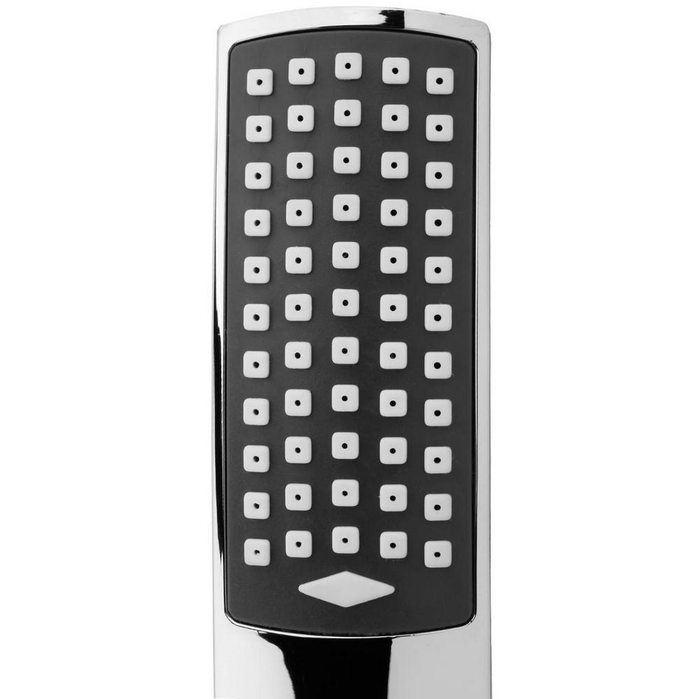 pommeau de douche pluie tropicale avec r ducteur de consommation d 39 eau maison fut e. Black Bedroom Furniture Sets. Home Design Ideas