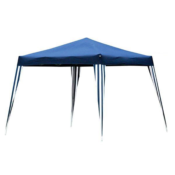 rideaux avec fen tre pour tonnelle de jardin 3 x 3 m bleue lot de 2 murs maison fut e. Black Bedroom Furniture Sets. Home Design Ideas