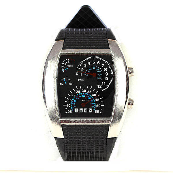 Montre binaire turbo