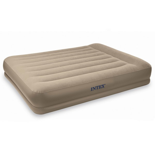matelas gonfleur int gr intex 2 personnes beige. Black Bedroom Furniture Sets. Home Design Ideas