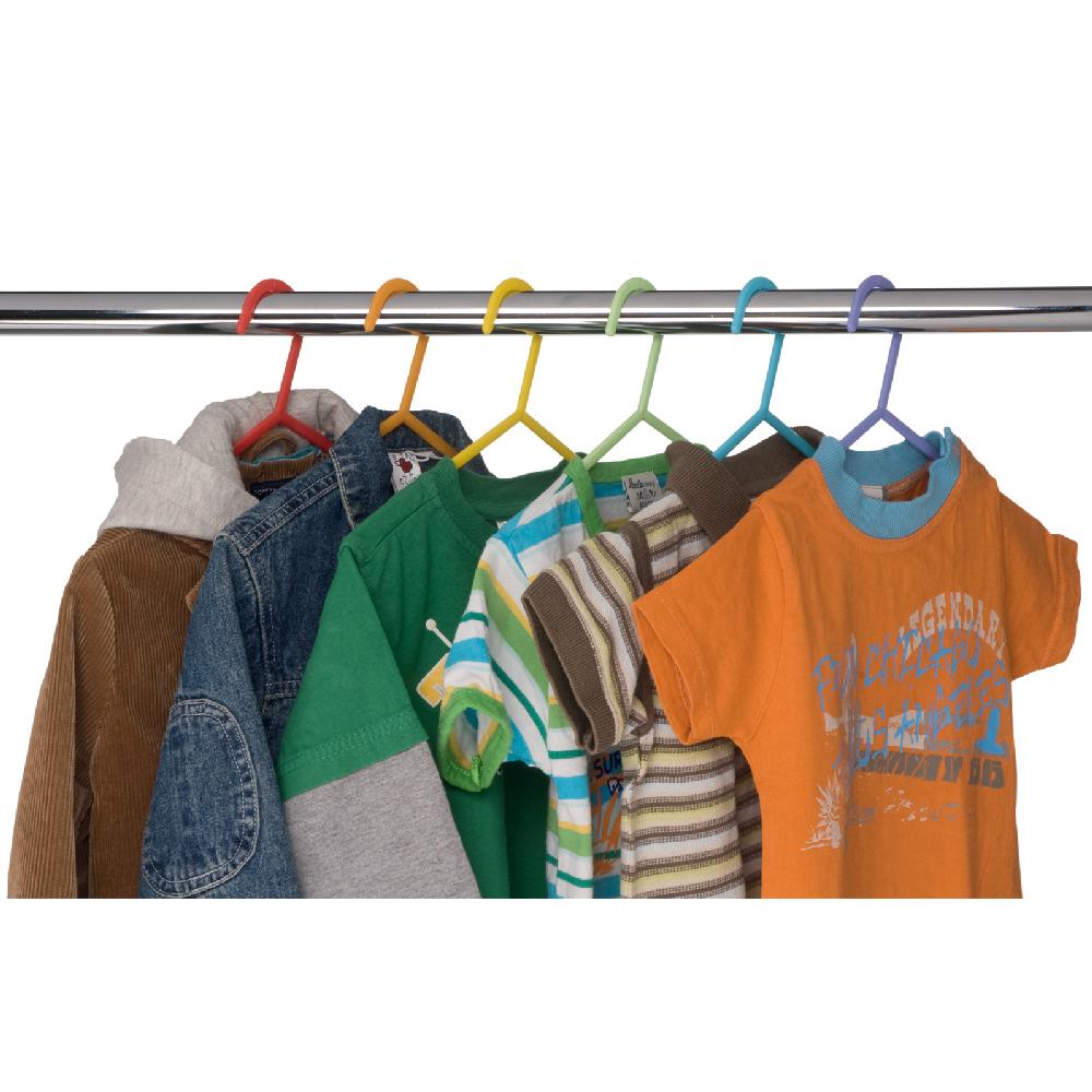 cintres pour enfants plastique multicolore par 6 maison fut e. Black Bedroom Furniture Sets. Home Design Ideas