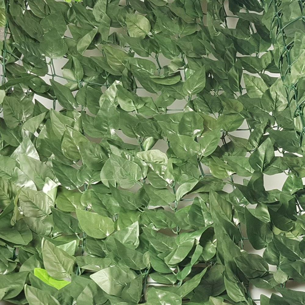 Brise Vue En Lierre haie artificielle canisse de laurier brise vue 1x3 m