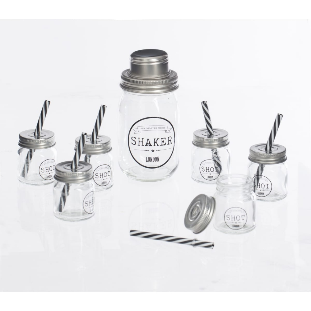 Coffret cocktail Shaker et shooters
