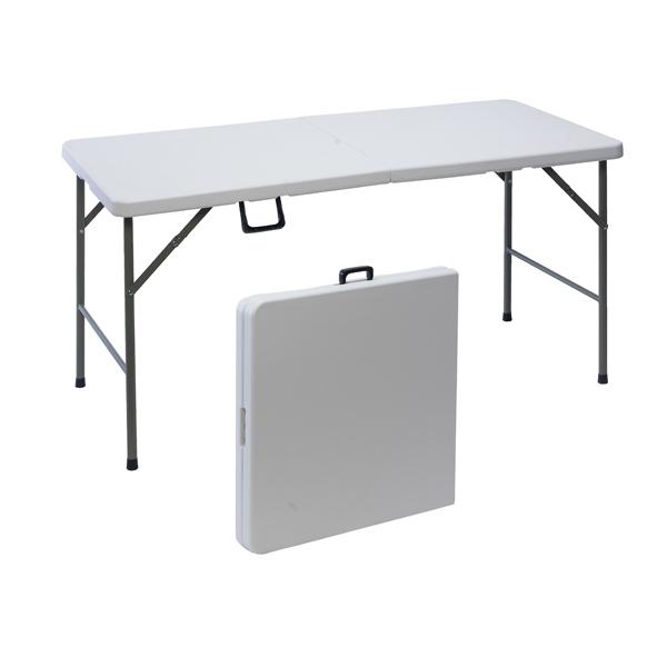 Table De Jardin Pliante En Plastique 152 Cm Maison Futee
