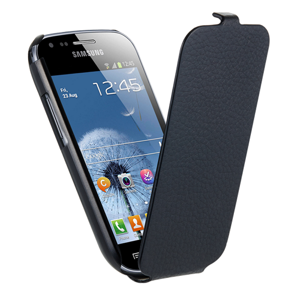 Housse origine samsung anymode galaxy s3 mini noir for Housse samsung s3