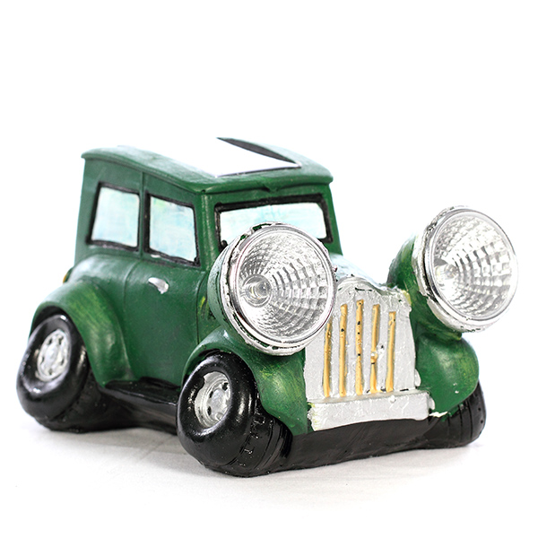 lampe solaire de jardin led voiture verte maison fut e. Black Bedroom Furniture Sets. Home Design Ideas