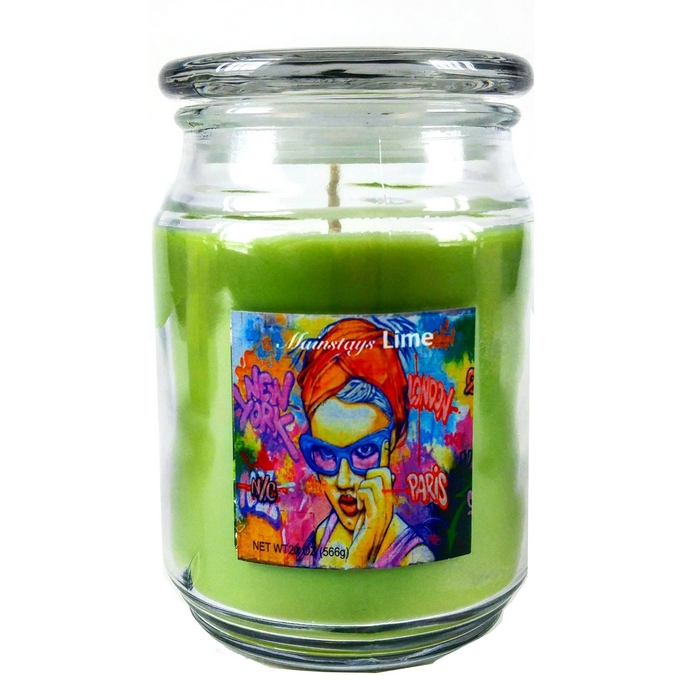 bougie parfum e lime cilantro bocal 566 gr maison fut e. Black Bedroom Furniture Sets. Home Design Ideas